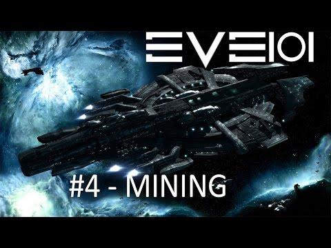 EVE Online 101 - Mining Basics - Punching Rocks Like a Boss