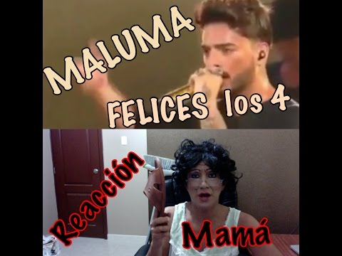 Thumbnail: MALUMA felices los 4 - REACCION mama