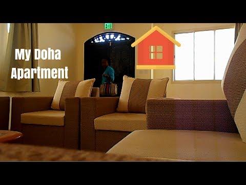 Staff Accommodation in Qatar. My Doha Apartment Tour