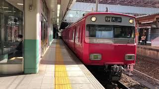 名鉄6000系6049F+6500系6414F 普通犬山行き 金山駅発車