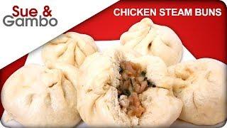 Chinese chicken steam buns,  da bao recipe