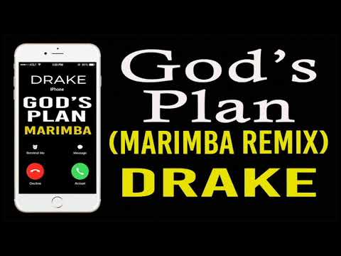 Latest iPhone Ringtone - Gods Plan Marimba Remix Ringtone - Drake