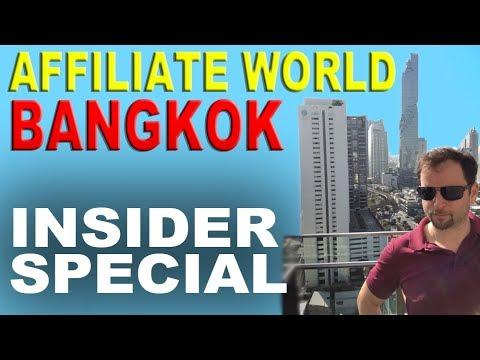 AFFILIATE WORLD ASIA - Besuch auf der weltweit größten Affiliatemesse in Bangkok