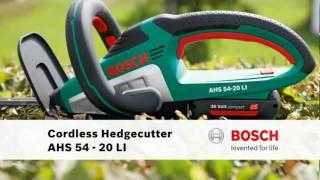 Bosch AHS 54-20 LI 36v Cordless Hedge Trimmer