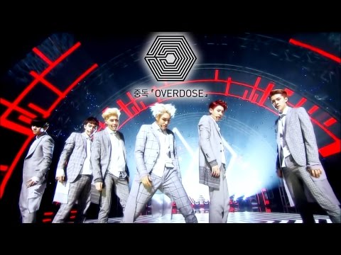 EXO-K (엑소) - 중독 (Overdose) 교차편집 / Stage Mix