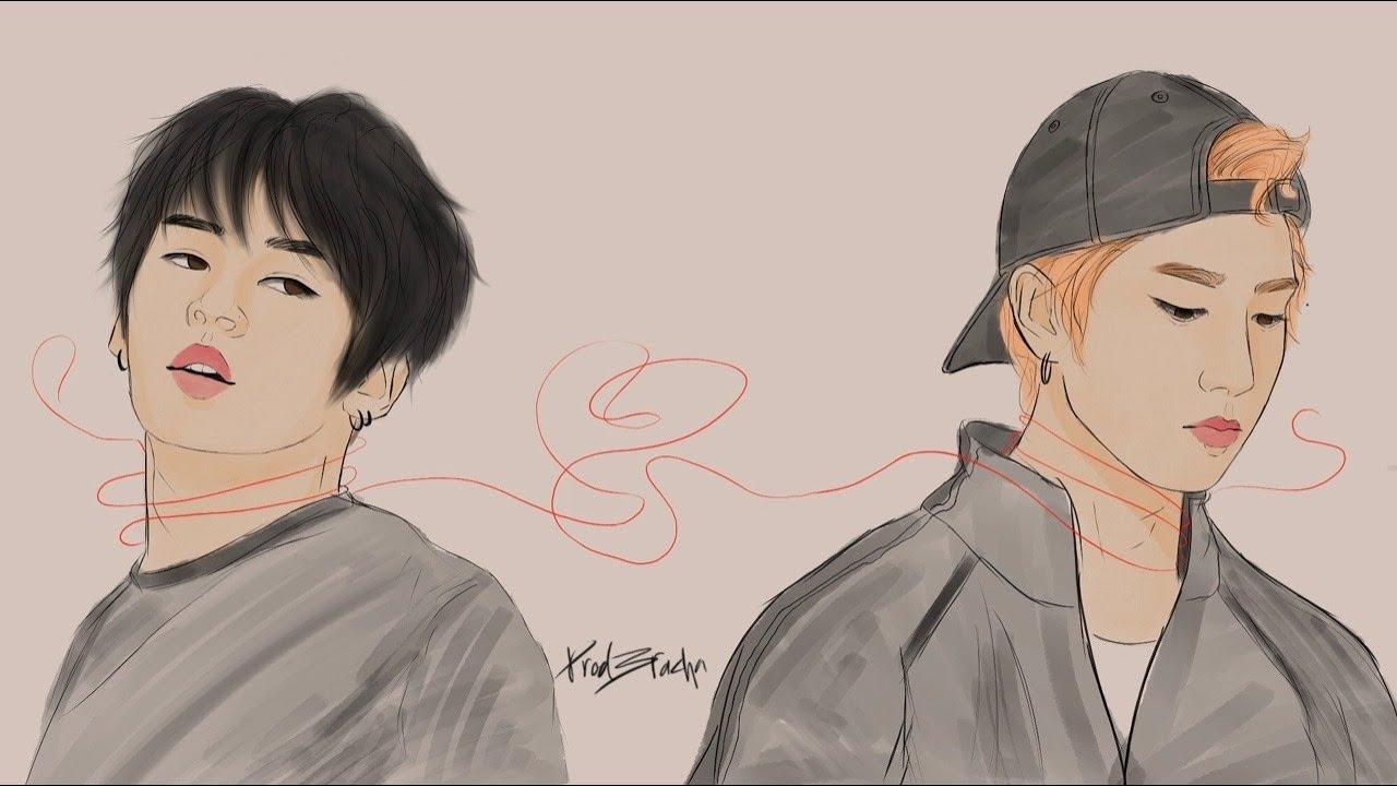 Soulmates!Minsung Speedpaint ㅣ Lee Minho Han Jisung ㅣ Stray Kids