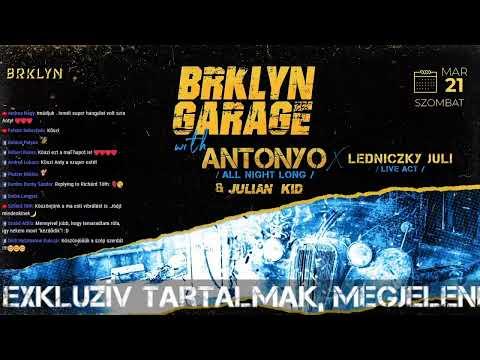 ANTONYO GARAGE HOUSE LIVE - 2020.02.05