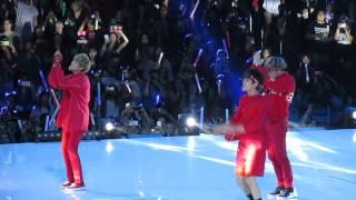 GOT7 and MonstaX Dance Battle Kcon 2015
