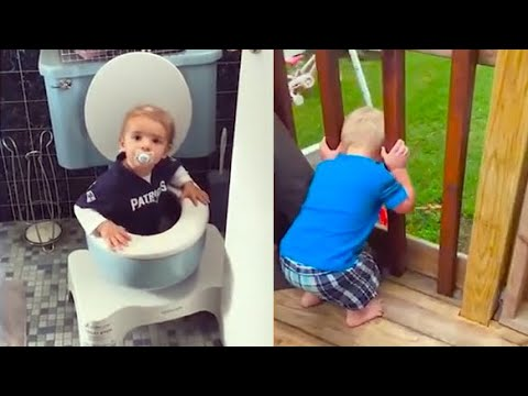 Best Naughty Babies and Kids Doing Funny Things #4