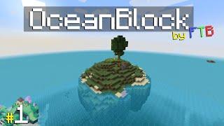 HELP  M Stranded At SEA \OceanBlock\ Modpack By FTB Ep.1
