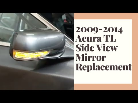 Learn how to replace your 2009-2014 Acura TL side view mirror
