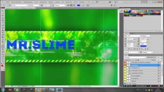 Как изменить текст на готовом шаблоне в Photoshop CS5 #1 Toturial, Тотуриал!