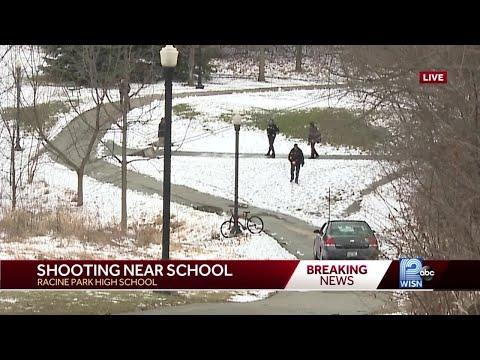 Person Shot Near Racine Park High School