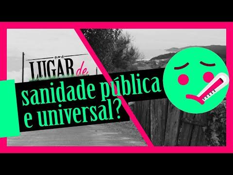 #LugarDe: Sanidade pública e universal?