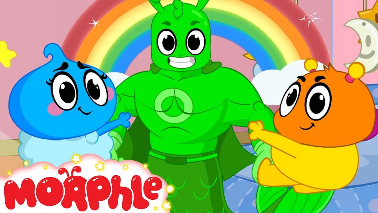 Orphle's Crayon Chaos!! - @Morphle TV | Kids Cartoons & Nursery Rhymes | Moonbug Kids