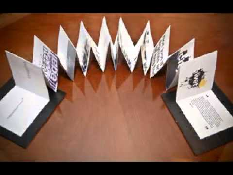 Creative brochure decorating ideas   YouTube Creative brochure decorating ideas