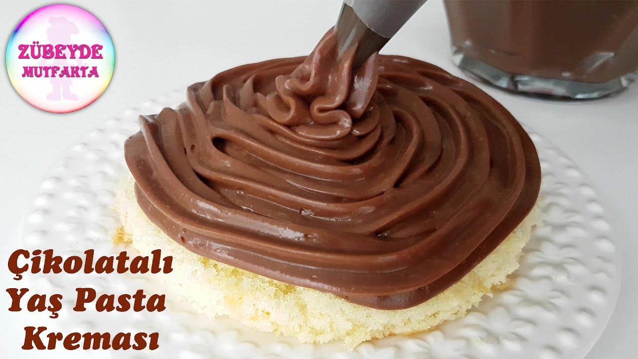 Pandispanya Pastacı Kreması Ganaj Sıvama Butik Pasta Nasıl Yapılır? 4 Aşamada Yaş Pasta Yapımı