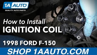 how to install replace passenger side ignition coil 1997 99 4 6l v8 ford f 150