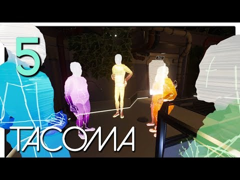 Let's Play Tacoma Part 5 - Final Preparations [Tacoma Game Blind PC Gameplay]
