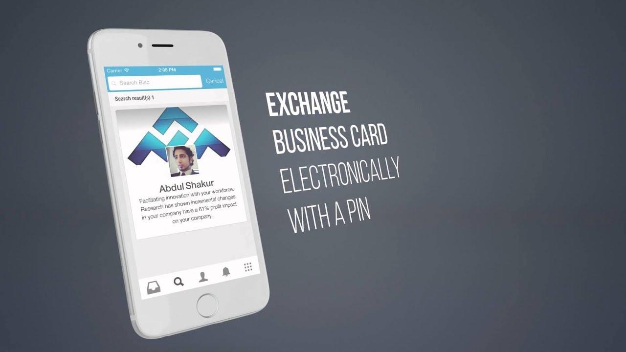 virtual business card ideas - Virtual Business Card