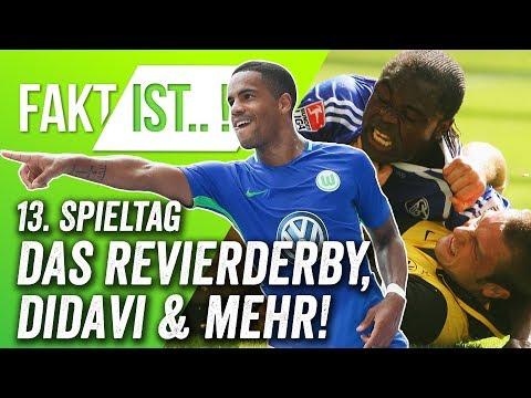 Fakt ist..! Revierderby und Aufsteiger-Duell! Bundesliga Vorschau 13. Spieltag 17/18