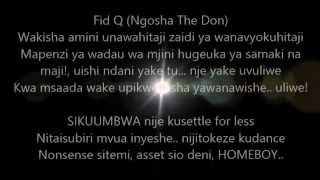 Young Killer Msodoki - 13 feat Fid Q (Ngosha The Don) & Belle 9 Mistari (Lyrics)