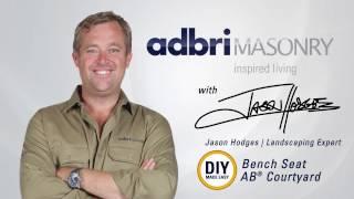 DIY - Anleitung zum Bau einer AB - ™ Courtyard Sitzbank | Adbri Mauerwerk
