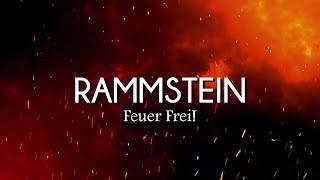 Rammstein - Feuer Frei! (Lyrics/Sub Español)