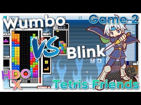 Wumbo vs Blink HDO X - Tetris Friends Game 2