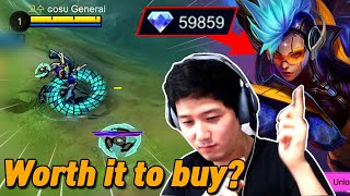 How much is New Karrie skin? Review and game playing | Mobile Legends