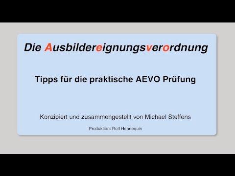aevo tipps fr die praktische prfung wie geht man an die prfung ran - Aevo Praktische Prufung Beispiele