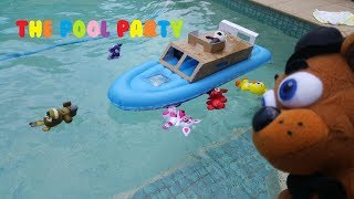 FNAF Plush Episode 22 The Pool Party