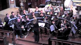 East London Brass play Comedy Overture at the John Ireland Music Festival