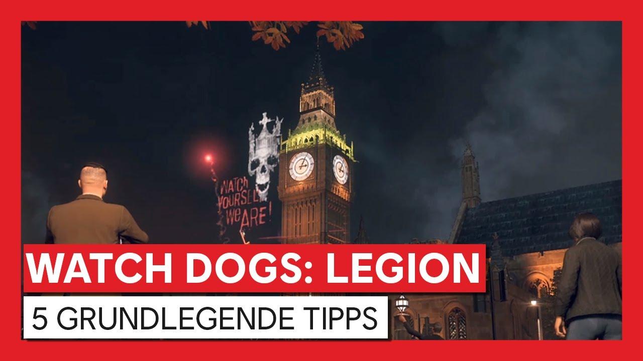 Watch Dogs: Legion - 5 Grundlegende Tipps | Ubisoft