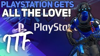 Playstation Gets EVERYTHING! (Fortnite Battle Royale)