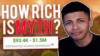 Fortnite How Rich is TSM Myth? How much money does Myth make? Myth Networth 2018!
