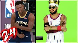 ZION WILLIAMSON DESTROYS LEBRON! NBA 2K20 MyCAREER - 1st Signature Commercial Ep. 24