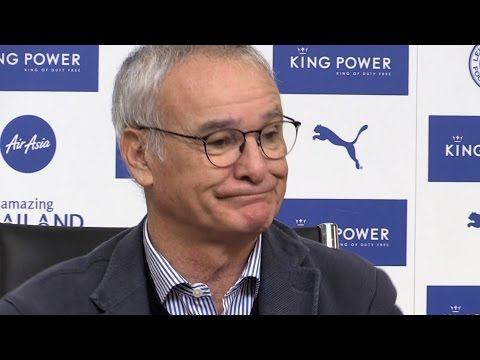 Claudio Ranieri Full Pre-Match Press Conference - Leicester v Chelsea