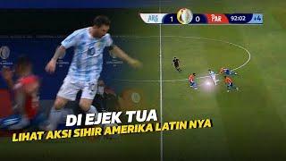 KEMBALINYA SIHIR MESSI‼️Lihat Aksi Messi Saat Menjadi Penyihir Di Laga Argentina vs Paraguay