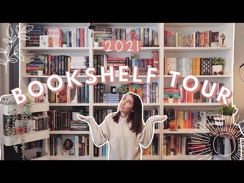 2021 BOOKSHELF TOUR 💫 350+ BOOKS!