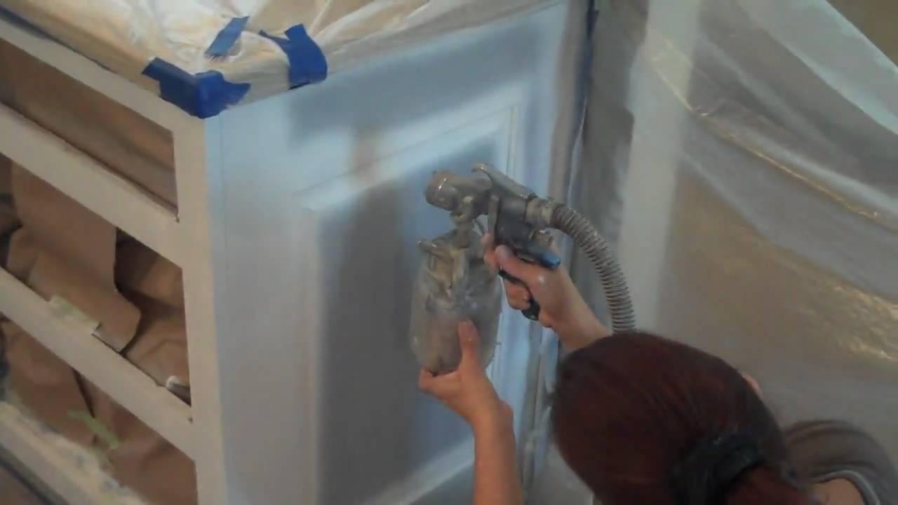 Watch The Earlex HVLP Paint Sprayer In Action