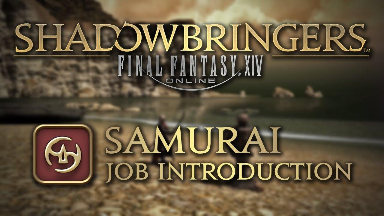 FFXIV: Shadowbringers Samurai Job Introduction – martial arts