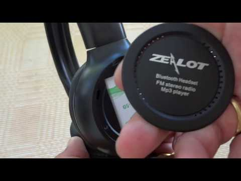 Changing the battery in Zealot B570 Bluetooth Headphones