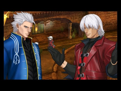 Project X Zone 2 : Brave New World [OGSE] - Part 12 : Dante is shocked