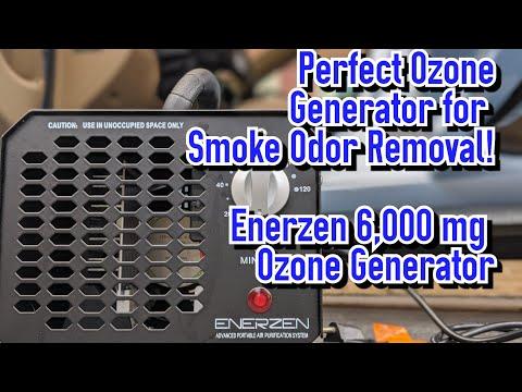 Perfect ozone generator for removing smoke odor (& more!) in a car- Enerzen 6000 mg Ozone Generator!