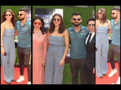 In Graphics: Anushka Sharma, Virat Kohli Make Another Grand Entry At Premiere Of Sachin Te
