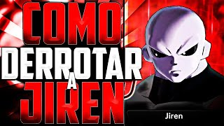 😎 COMO DERROTAR a JIREN en el MODO COLISEO😎 Dragon Ball Xenoverse 2