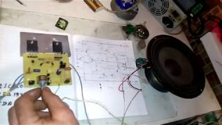 Как сделать усилитель зука с мощностью 70nom 140ватт