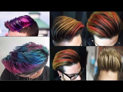 Men's Hair Color Trends 2018 | Haircolor Ideas For Men 2018 | Guys Hair Color Ideas