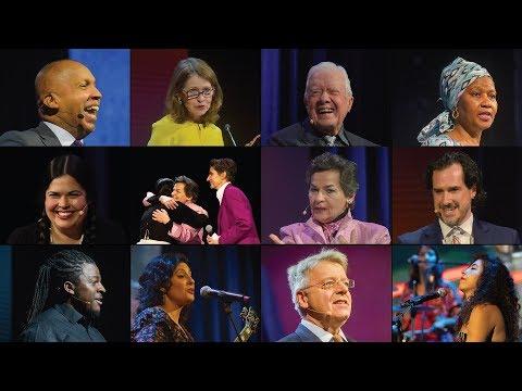 Skoll World Forum 2018 Opening Plenary | Jimmy Carter, Bryan Stevenson, Phumzile Mlambo-Ngcuka